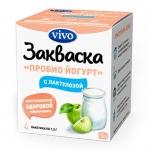 VIVO-ВИВО Пробио йогурт с лактулозой